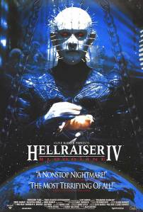 POSTER - HELLRAISER ‡4‡ BLOODLINE (alternate)